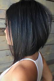 uneven bob for thick hair inverted bob haircut