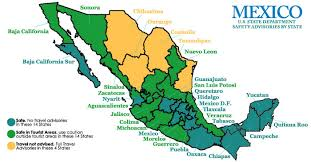 durango mexico map mexico s states how safe is mexico