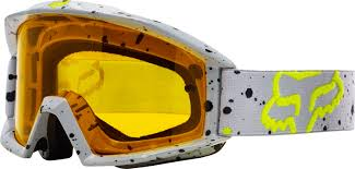 goggles motocross fox motocross u0026 enduro mx combo fox 180 race yellow maciag offroad