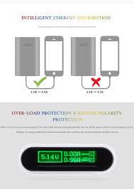tomo t4 4pcs 18650 batteries charging station power bank case diy