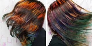 step cutting hair harry potter gryffindor hair color is a real thing trending hair