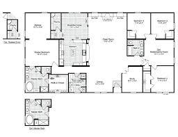 home floor plans free 5 bedroom 4 bath rectangle floor plan aciu club