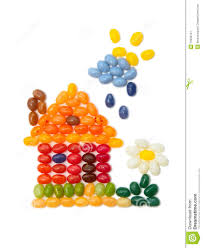 home sweet home kids jelly beans design stock image image