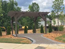 Screened In Pergola by 224 Turner Oaks Drive Cary Nc A Team Realty Group