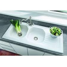Villeroy  Boch Ravel  Bowl Ceramic Sink Kitchen Sinks  Taps - Ceramic kitchen sinks