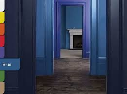 Warm Blue Color Dulux Blue