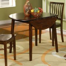 Drop Leaf Table For Small Spaces Drop Leaf Dining Table For Small Spaces With Brown Color Table And