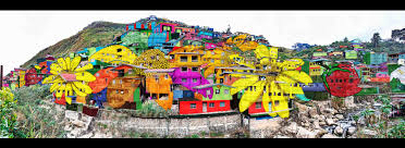 this gigantic community wide artwork in la trinidad is stunning