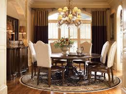 bolero seville round pedestal table dining room set by universal