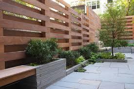 creative idea modern house with small patio design using small