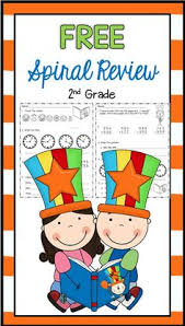 morning work for 2nd grade free spiral review 2nd grade