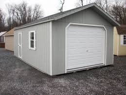 amish built 14x24 1 car garage in elizabethtown pa lancaster