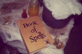 Halloween Crafts For Teens - book of spells fun family crafts