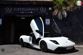 Lamborghini Murcielago Interior - satin pearl white lamborghini murcielago lp 640 photoshoot gtspirit