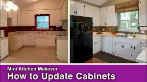 how to paint u0026 update kitchen cabinets youtube