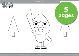 coloring pages resource type super simple