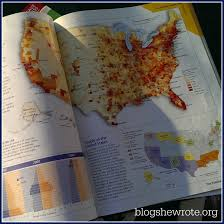 United States Learning Map by Learning Geography With Atlases Blog She Wrote