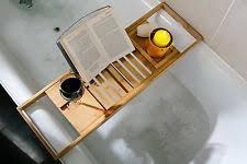 Wood Bathtub Caddy Wooden Bath Bathtub Caddies Storage Equipment Ebay
