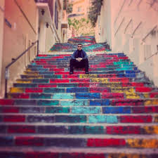 the famous mar mikhael stairs one of the most iconic places in