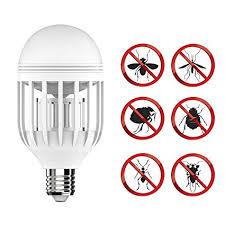 light bulb bug zapper reviews amazon com bug zapper light bulb with led light bulb fly killer