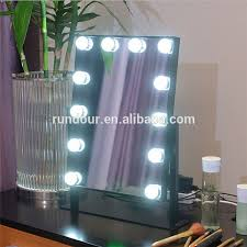 Tabletop Vanity Mirror With Lights News Waneway Hollywood Style Makeup Vanity Mirror With Light