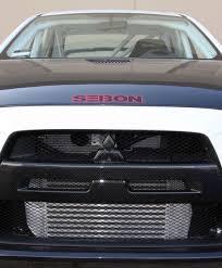 lancer mitsubishi 2008 carbon fiber front grille for 2008 2010 mitsubishi lancer evo x
