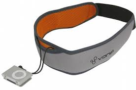 headband mp3 swim with your ipod shuffle and bone conduction headphones gearfuse