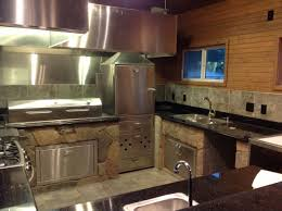 kitchen amazing outdoor design plans with grey tile cabinets home
