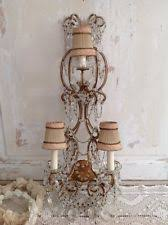 Vintage Crystal Sconces Crystal Antique Chandeliers Fixtures U0026 Sconces Ebay