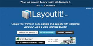 layoutit video 7 bootstrap editors for rapid development of responsive websites