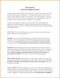 formal lab report template layout of a formal report 5 day schedule template