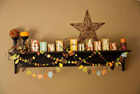home easy thanksgiving floating shelf decorations for kids with