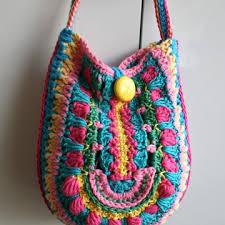 boho crochet boho bag crochet pattern allcrochetpatterns net