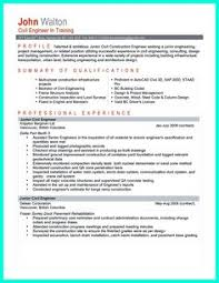 Civil Engineer Resume Sample Pdf by Certifications On A Resume Certification On Resume Example
