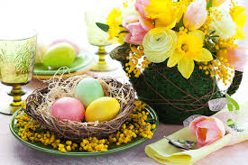 Easter Table Decorations by 5 Easy Affordable Diy Easter Table Centerpieces Latina Moms