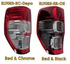 Depo Auto Lamp Indonesia by Red Black Rear Tail Back Light Ford Ranger Wildtrak Lamp L S 2012