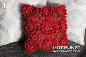 Cusion Cover How To Crochet A Cushion Cover Interunet