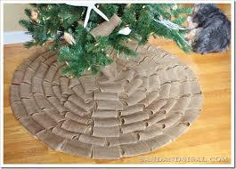 no sew burlap tree skirt sand and sisal