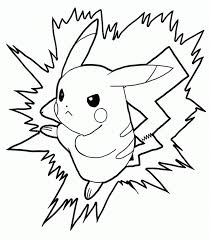 battling pikachu coloring pages cartoon coloring pages of