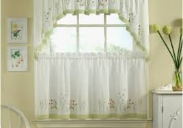 Lace Cafe Curtains Lace Cafe Curtains Awesome Medallion Macrame Lace Tier Window