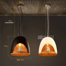 nordic ikea resin bird loft cafe bar ceiling lamp light decor