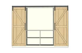 Sliding Barn Door Construction Plans Cool Sliding Door Plans Pictures Best Inspiration Home Design