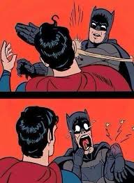 Meme Generator Batman Slap - batman slaps superman blank template imgflip