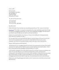 uncomplicated mortgage letter of explanation sample with address