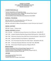 Monster Sample Resume by Resume Supervisor Of Aerospace