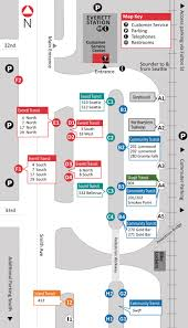 Seattle Tacoma Airport Map Bus U0026 Train Services Everett Transit Wa Official Website