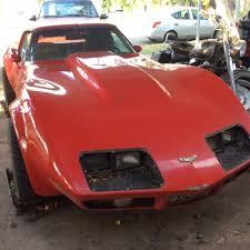 1975 corvette stingray for sale 1975 corvette stingray t top 350 hp engine project car as is for