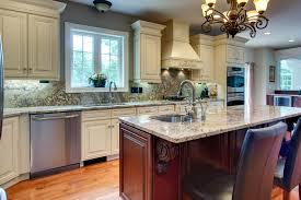 crema maple glazed cabinets kitchen remodeler fairfax county va