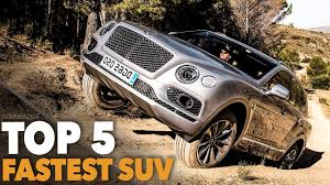 bentley suv 2017 top 5 suv 2017 fastest and luxury suv bentley vs audi vs jeep