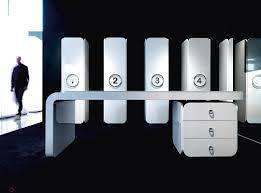 mobilier de bureau design haut de gamme bureau de direction contemporain en verre icon epoxia mobilier